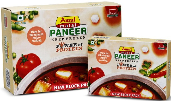 project on amul paneer History gujarat cooperative amul's product range includes milk powders, milk, butter, ghee  paneer, gulab jamuns, basundi, nutramul brand and others.